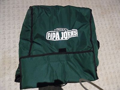 """Papa John's Insulated Pizza Delivery Bag  21 1/2"""" x 19 3/4"""" x 7 3/4"""""""