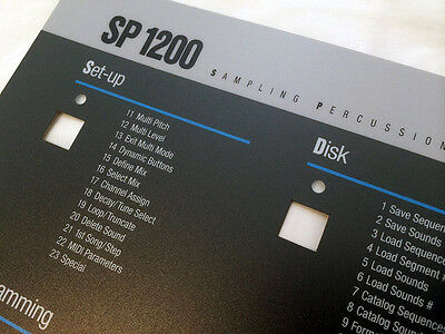 Emu SP-1200 Replacement Replica panel overlay