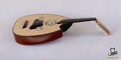 Turkish Professional Half Cut Electric Oud Ud String Instrument Aoh-301G