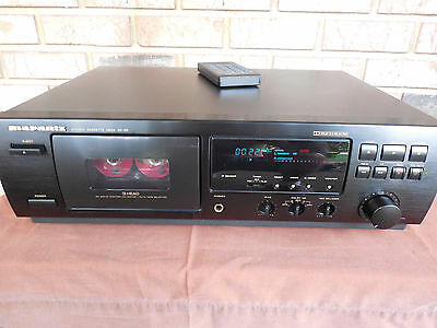 Piastra di registrazione a cassette Marantz SD-63 Three Head Remote  Deck