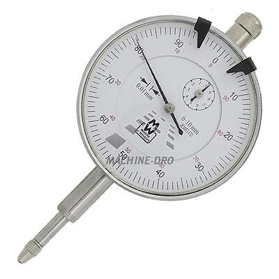 0-10mm Travel Dial Gauge Metric Plunger Type Moore and Wright Indicator MW400-05