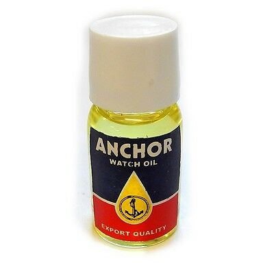 Anchor Watch Oil Superfine Super Fine Oil For Wrist Watches 10ml - HO277