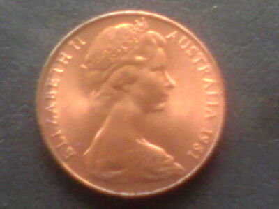 Australian 1981 Two Cent Uncirculated