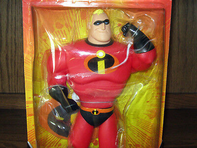 Disney The Incredibles MR INCREDIBLE Action FIGURE Articulated Toy NEW - RARE!!