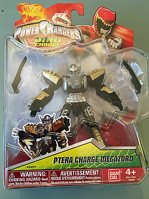 Power Rangers Dino charge gold ranger Ptera charge megazord brand new in blister