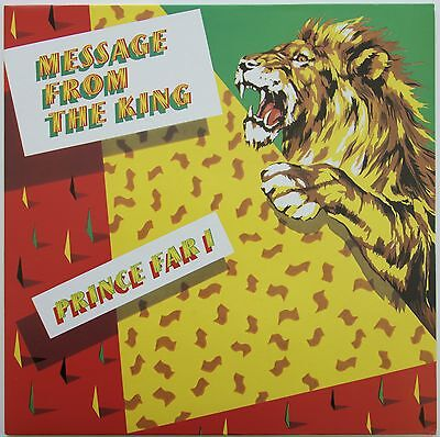 Prince Far I & The Arabs - Message From The King LP UK  Front Line  FL7