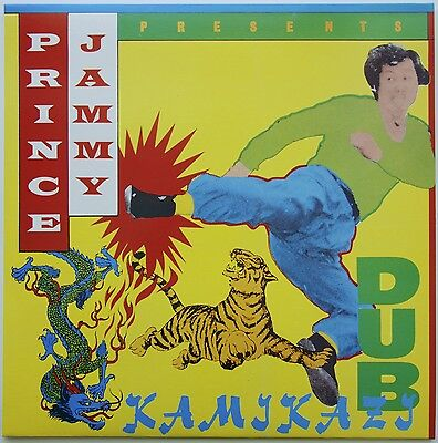 Prince Jammy - Kamikazi Dub LP UK  Trojan Records TRLS 174