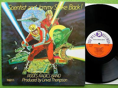 Scientist & Prince Jammy - Scientist And Jammy Strike Back! LP Trojan Records