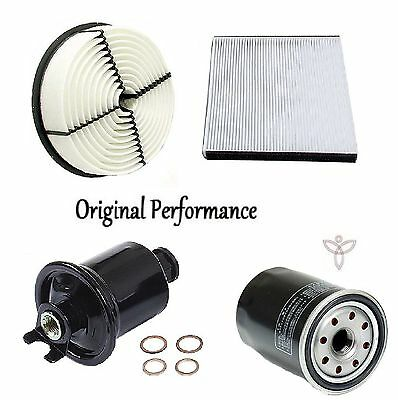 Tune Up Kit Cabin Air Oil Fuel Filters for Lexus LS400 1998-1999