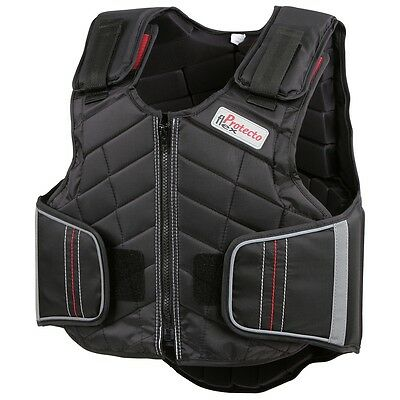 Covalliero Kids' Horse Riding Equestrian Safety Vest XS ProtectoFlex 323070