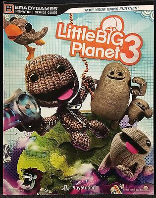 Little Big Planet 3 Official Game Strategy Guide PS4 PlayStation 4 *NEW*