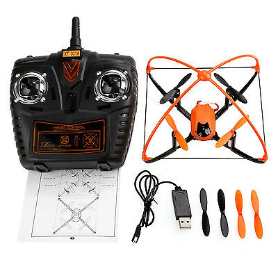 XT Flyer 360° Headless Quadcopter 2.4GHz 4CH 6-Axis Gyro RC drone w/flash lights