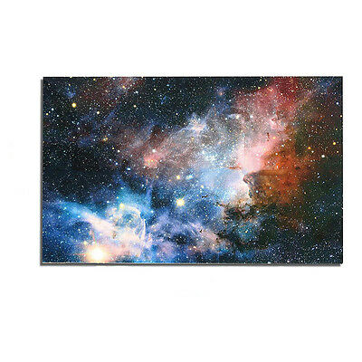 "43""x24"" Universe Space Galaxy Planet Nebula Art Silk Cloth Poster For Wall Decor"