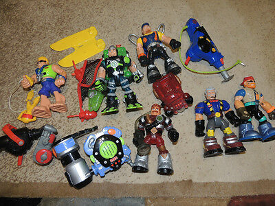 Lot of Rescue Heroes Figures and Accessories