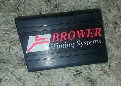 Brower Timing System parts black red only clean as is replacememt