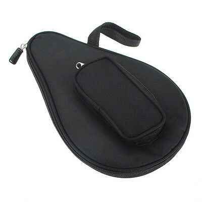 Professional Table Tennis Racket Case Ping Pong Paddle Bat Ball Pouch Bag Games