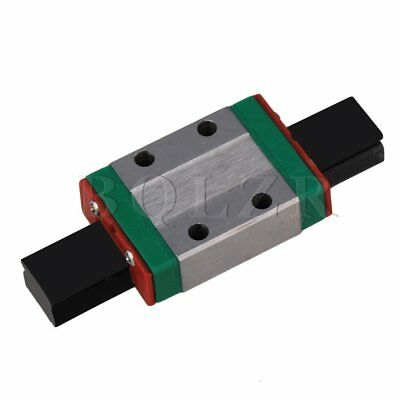 BQLZR 8mm Thick 30mm Length Linear Guide Rail Sliding Block MGN9C