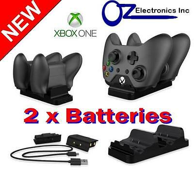 USB Rechargeable Batteries and charger for Xbox One 1200mAh Melbourne Australia