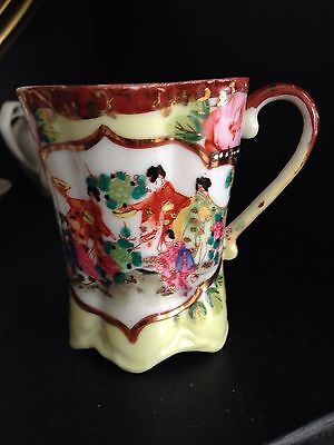 Vintage Antique Early 1900's Oriental  Small Tea Cup