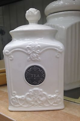 New Thl Tea Canister Jar Rose Knob