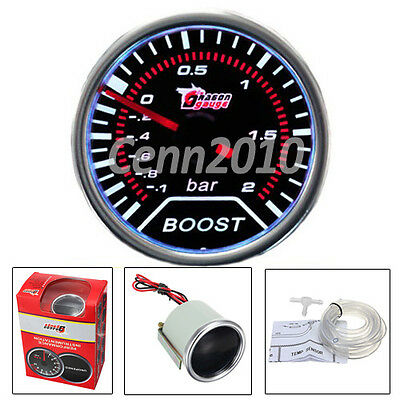 2'' 52Mm 12V Led Digitale Manometro Vacuometro Strumento Pressione Turbo Auto