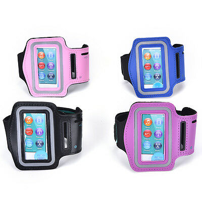 Fine Sport Running Gym Soft Armband Cover Case for iPod Nano 7th Generation JB