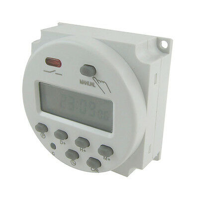 Digital LCD Power Programmable Timer Time Switch DC12V /24V AC110/220V