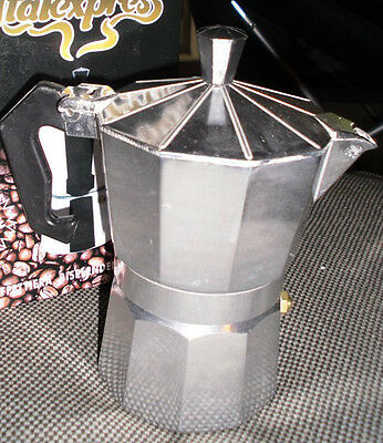 COFFEE ESPRESSO MAKER STOVETOP Cafetiere Moka Pot 1 Cup Italexpress