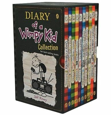 Diary of a Wimpy Kid Collection - Ten best selling books