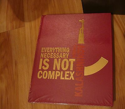 "RARE GIFT Book Mikhail Kalashnikov ""Everything Necessary Is Not Complex"