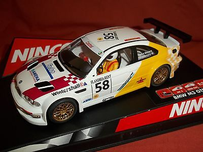 NINCO Scalextric  BMW M3 GTR BOXED