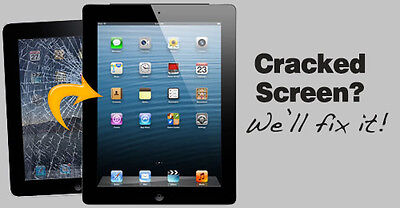 Apple iPad 2 3 4 screen repair highest quality parts only