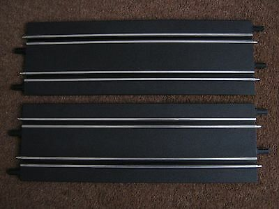 """CARRERA GO 1:43 SCALE LONG STRAIGHT Track X 2 Pieces ( """"C"""" section )"""