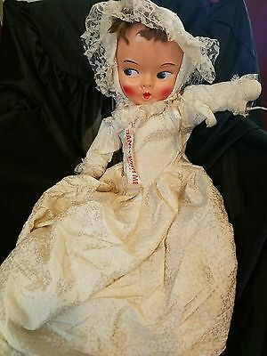 Vintage 1950's Painted Mask Face Dance With Me Doll