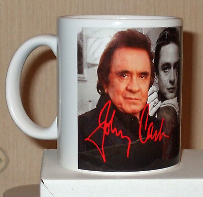Johnny Cash tribute coffee  mug