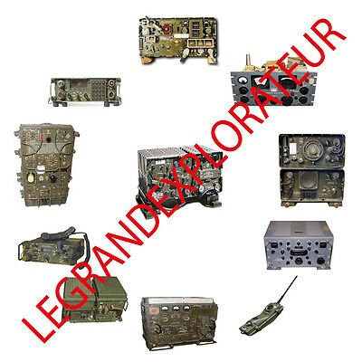 Ultimate Army Radio  Operation Repair  Service manual   600 pdf manuals on 2 DVD