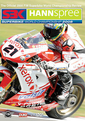 Fim World Superbikes Review 2008 - Dvd - All Regions - Brand New & Sealed