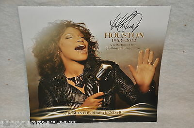 """WHITNEY HOUSTON 2013 """"Nothing But Love Tour"""" 12 By 11 Inch Wall Calendar"""