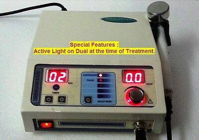 Prof. Ultrasound Therapy Machine 1Mhz, Pain Relief Therapy Portable New ITL @56