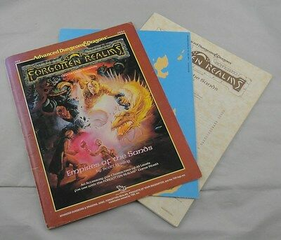 Advanced Dungeons & Dragons Forgotten Realms: Empires of the Sands TSR9224 FR3