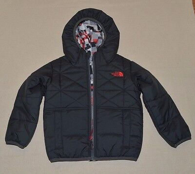 The North Face Toddler Perrito Reversible Jacket Boys Toddler 3T Black New