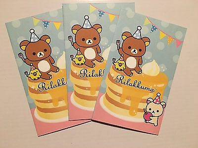 RILAKKUMA Small Japan / Chinese New Year Red Packet / Envelopes (6pk)