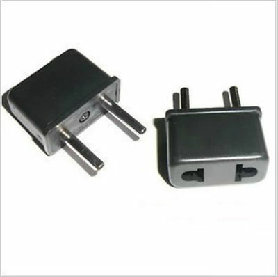1XUK/US/AU Universal to EU AC Power Plug Travel Adapter Socket Converter Charger