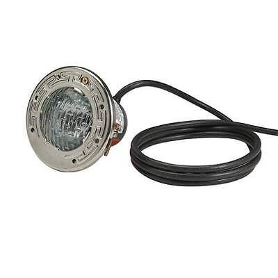 Pentair Aqualight 120V 250W 50' Cord Pool Light with Stainless Steel Face Ring