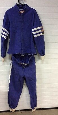 Rjs Racing Flame Resistant Size X-Large Driving Suit 2 Piece Sfi 3-2A/1 Indy