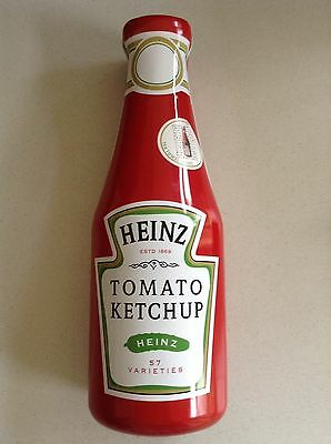 Large Heinz Tomato Ketchup Collectors Tin Complete with Tea Towel