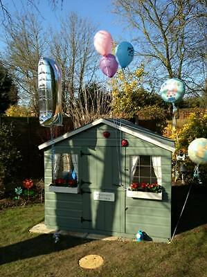 Shedrite's brand new T&G 6X6 playhouse inc 2ft porch