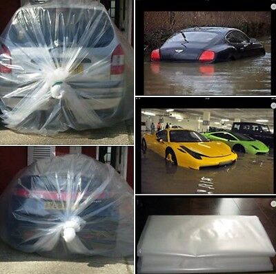 Small Car and Furniture Flood/Storage Vacuum Bag Cover. Buy 2 ,FREE 1 Sofa over