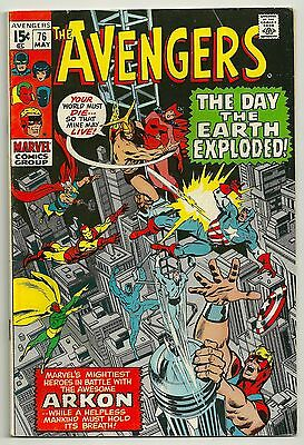 The Avengers #76 - Fine-  (May 1970, Marvel)