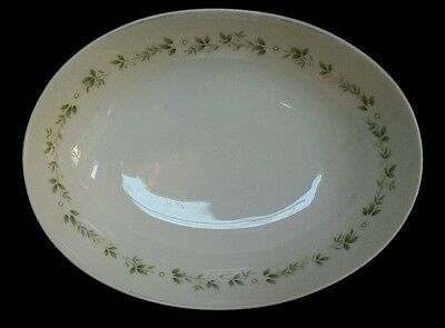 Noritake Ivory China Cornelia Oval Vegetable Bowl 8.75 Inch Disontinued 7572